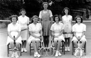 1940s Tennis
