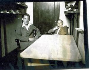 J Hosken and L G Taylor by Tony Hills about 1939