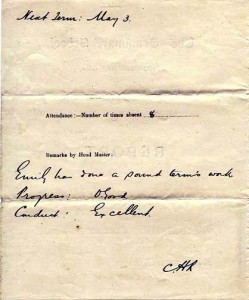 Lippiatt report Spring 1909a